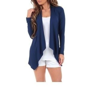Women's Spring Draped Cardigan
